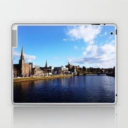 On The Bridge - Inverness - Scotland Laptop & iPad Skin