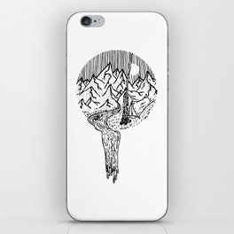 Mountain Campfires iPhone Skin
