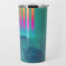 Striped sky Travel Mug