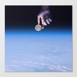 Moonfinds Canvas Print