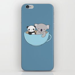 Kawaii Cute Koala and Panda iPhone Skin