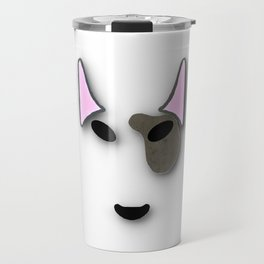 bull terrior. Travel Mug