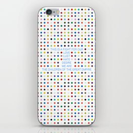 Thirty Seconds To Mars ; Conquistador iPhone Skin