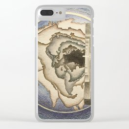 Savior of the World Clear iPhone Case