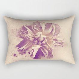 Vintage rose Rectangular Pillow