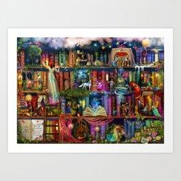 Whimsy Trove - Treasure Hunt Art Print