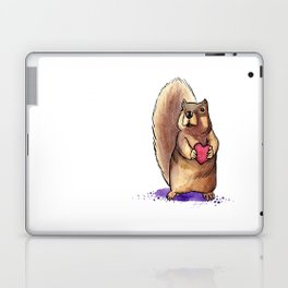 Squirrel Loves You Laptop & iPad Skin