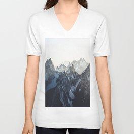 Mountain Mood Unisex V-Neck