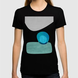 Stacking Pebbles Blue T-shirt