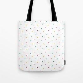 Fresh happy triangels Tote Bag