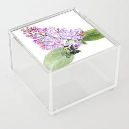 Lilac Love by Teresa Thompson Acrylic Box
