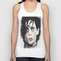 edward scissorhands Tank Tops featuring Edward Scissorhands by Catheriney