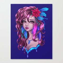 Feathrs Canvas Print