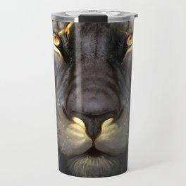 LION-GOLD-ART Travel Mug