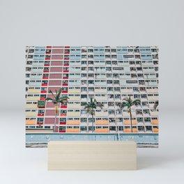 Rainbows at Choi Hung Mini Art Print