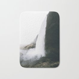 Waterfall II / Seljalandsfoss, Iceland Bath Mat