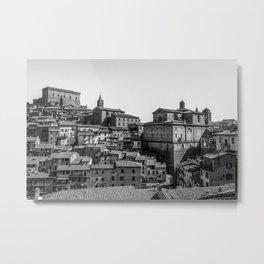 Soriano nel Cimino (Italy) - Orsini Castle Metal Print
