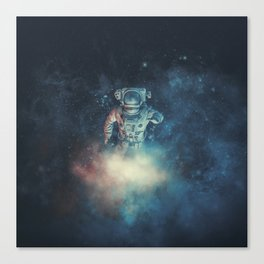 Into The Oort Cloud Canvas Print