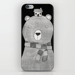 A great big bear iPhone Skin