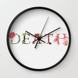 Life In Death Wall Clock