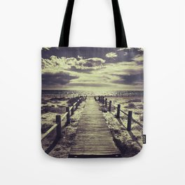 To the beach.... Tote Bag