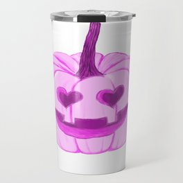 Happy Jack O Lantern Travel Mug