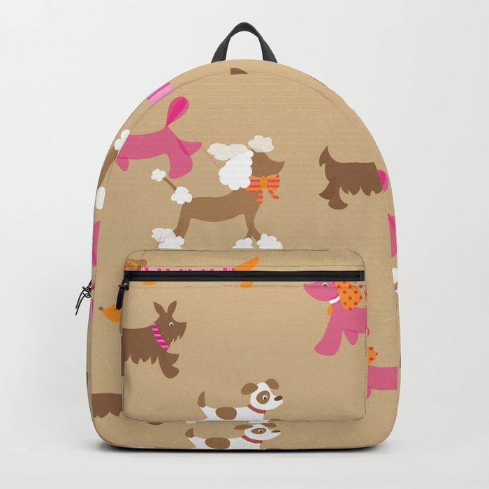 Walkies, Poodles, Sausage dogs and Terriers Backpack