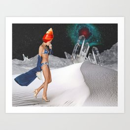What Seashell Shall I Say Is Calling? Art Print