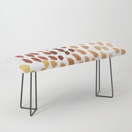 Colorful City Dots Bench