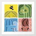 Fab Four Pets by buchino