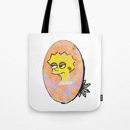 """Lisa """"Side Eye"""" Simpson Tote Bag"""