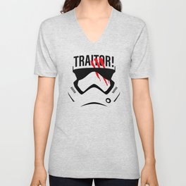 Traitor! Unisex V-Neck