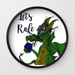 Lets Role Wall Clock