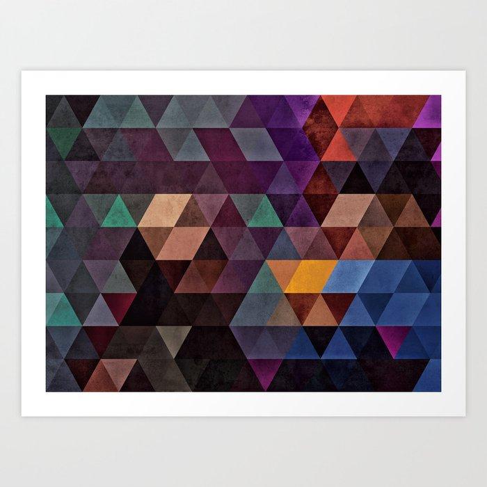rhymylyk dryynnk Art Print