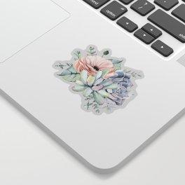 Pretty Succulents by Nature Magick Sticker