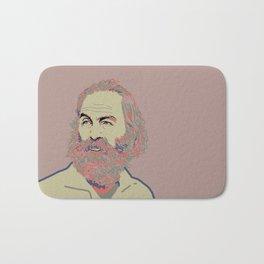 Walt Whitman Bath Mat