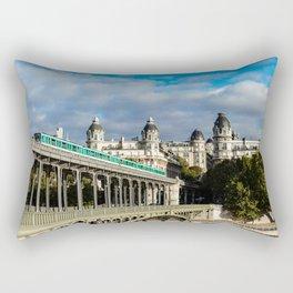 France, Bridge Bir Hakeim, Paris Rectangular Pillow