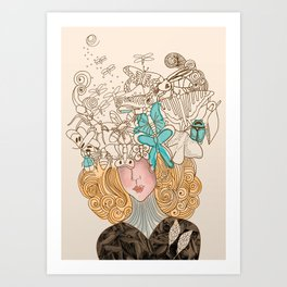 Th Mask Art Print