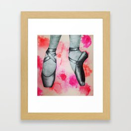 The Colorful Pointe Framed Art Print