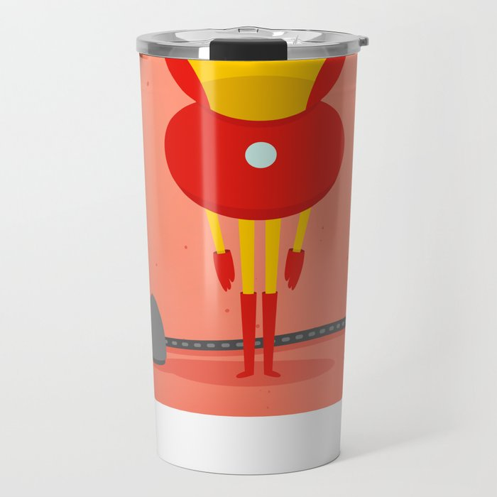 Ironman: My ironing Hero! Travel Mug