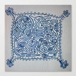 Swirlies of Doom Canvas Print