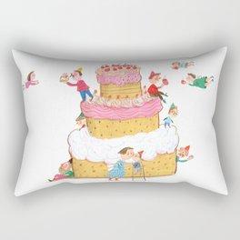 Yummy Cookie Wedding Cake Rectangular Pillow