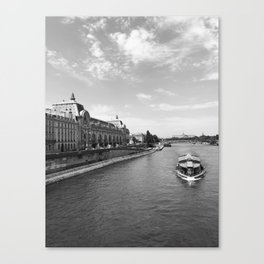 The Seine River in Paris Canvas Print