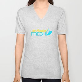 So Freakin' Fresh v3 HQvector Unisex V-Neck