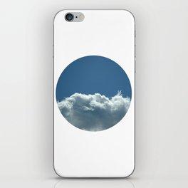 Blue+White iPhone Skin