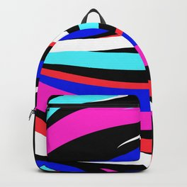 Abstract minimalist Stripes Backpack