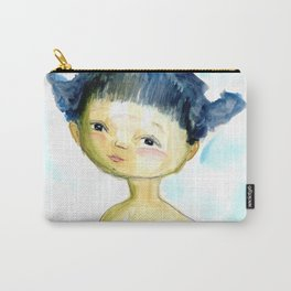 Pigtail girl Carry-All Pouch
