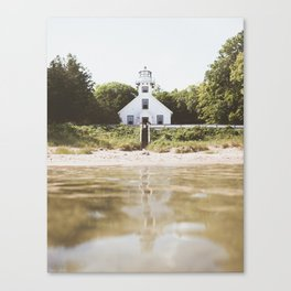 Old Mission Point Lighthouse | Michigan | John Hill Photography Canvas Print