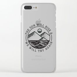 truce Clear iPhone Case