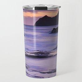 Vela blanca tower. Purple beach Travel Mug
